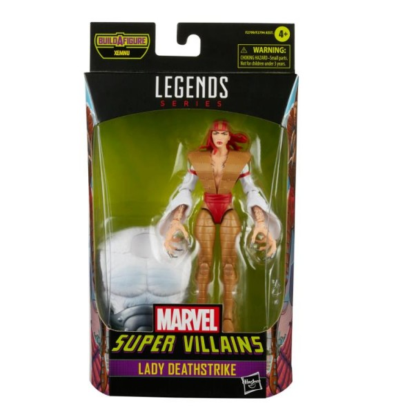 Super Villains Marvel Legends Actionfigur Lady Deathstrike