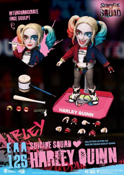 Suicide Squad 'Egg Attack Action' Figur Harley Quinn