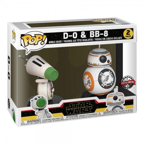 Star Wars Rise of Skywalker Funko Pop! Vinylfiguren D-O & BB-8 (2-Pack) Exclusive