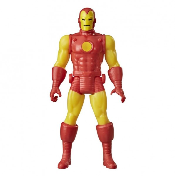 Marvel Legends Retro Actionfigur 10 cm Iron Man