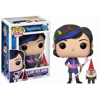 Trollhunters Funko Pop! Vinylfigur Claire with Gnome 468