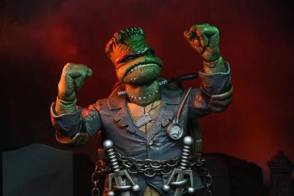 Universal Monsters x TMNT Actionfigur Ultimate Raphael as Frankenstein's Monster