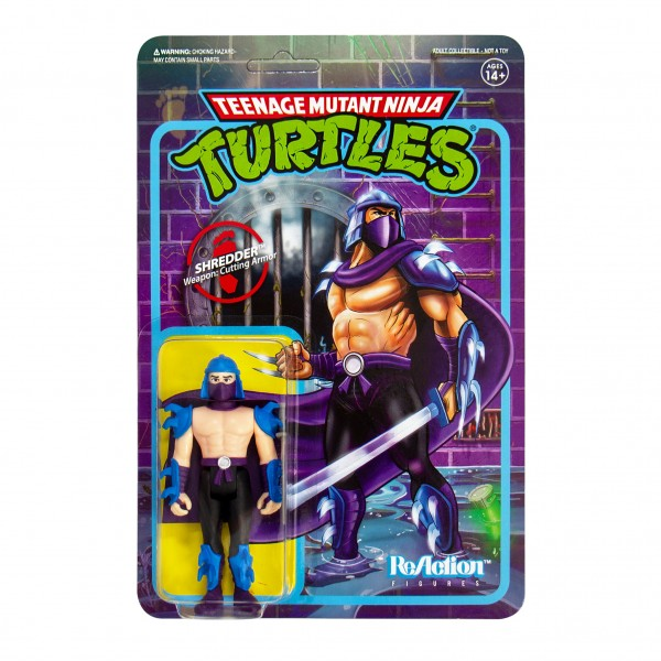 Teenage Mutant Ninja Turtles ReAction Actionfigur Shredder