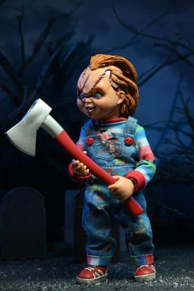 Chucky und seine Braut Retro Actionfiguren Chucky & Tiffany (2-Pack)
