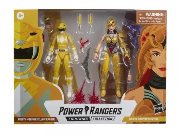 Power Rangers Lightning Collection Actionfiguren 15 cm Mighty Morphin Yellow Ranger & Scorpina (2-Pa