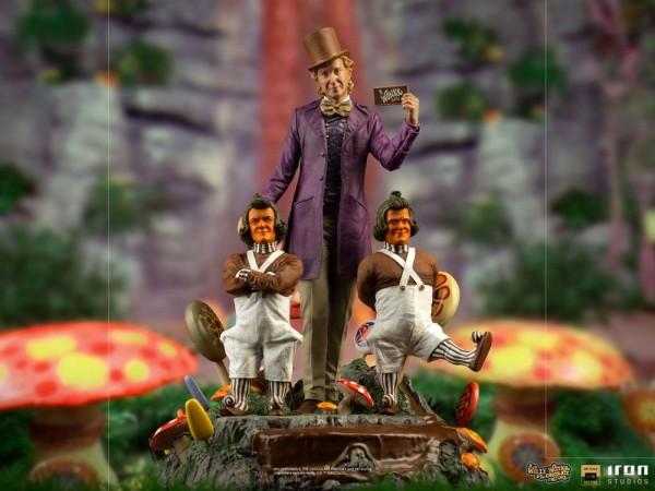 Charlie und die Schokoladenfabrik (1971) Art Scale Statue 1/10 Willy Wonka (Deluxe)