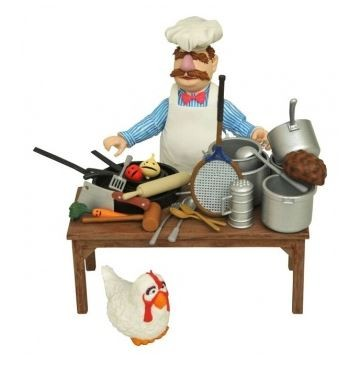 Muppets Select Actionfigur Swedish Chef (Deluxe)