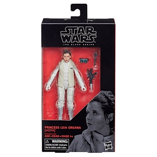 Star Wars Black Series Actionfigur 15 cm Princess Leia Organa (Hoth)