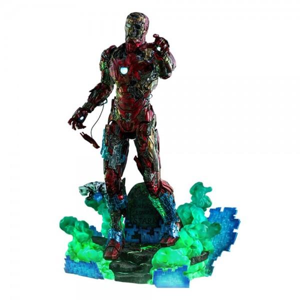 Spider-Man Far From Home Movie Masterpiece Actionfigur 1/6 Mysterio's Iron Man Illusion