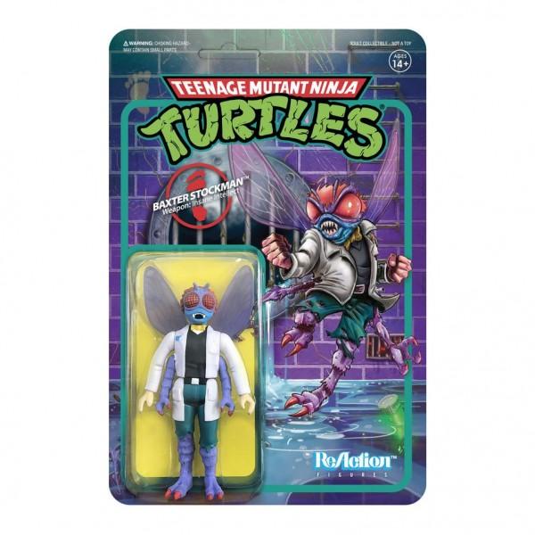 Teenage Mutant Ninja Turtles ReAction Actionfigur Baxter Stockman
