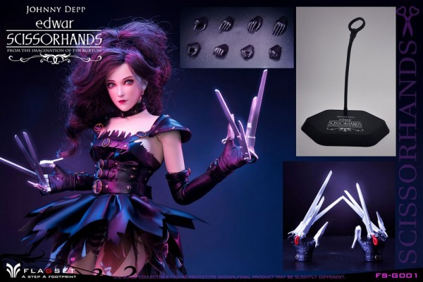Flagset 1/6 Actionfigur Edwar Scissorhands