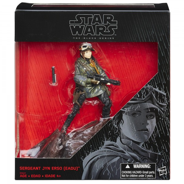 Star Wars Black Series Actionfigur 15 cm Jyn Erso (Eadu) Exclusive