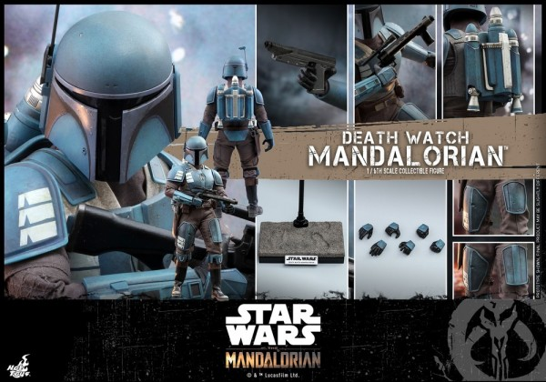Star Wars The Mandalorian Television Masterpiece Actionfigur 1/6 Death Watch Mandalorian