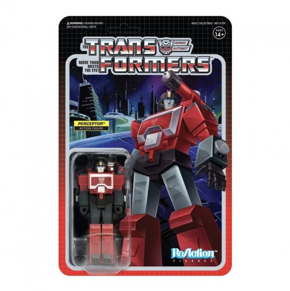 Transformers ReAction Actionfigur Perceptor