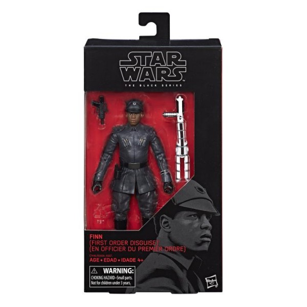 Star Wars Black Series Actionfigur 15 cm Finn (First Order Disguise) #51