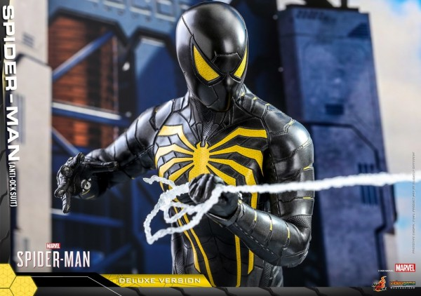 Spider-Man Video Game Masterpiece Actionfigur 1/6 Spider-Man (Anti-Ock Suit) Deluxe Version