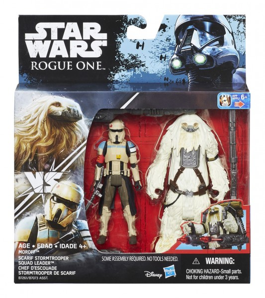 Star Wars Rogue One Actionfiguren 10 cm 2-Pack Moroff vs. Scarif Stormtrooper Squad Leader