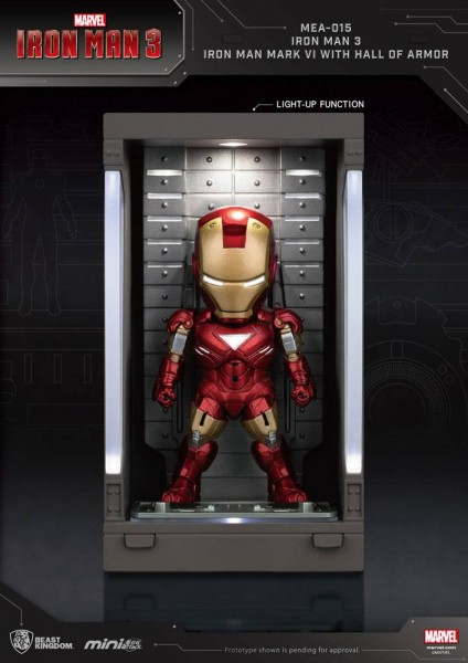 Iron Man 3 'Mini Egg Attack Action' Figur Hall of Armor Iron Man Mark VI