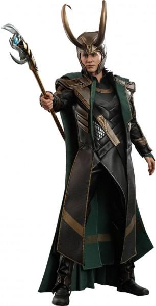 Avengers Endgame Movie Masterpiece Actionfigur 1/6 Loki