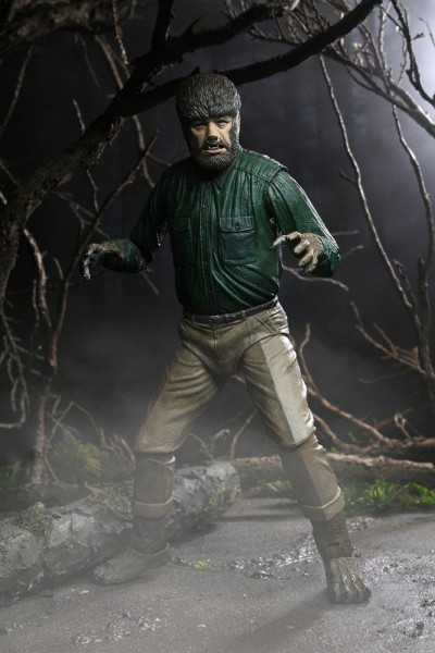 Universal Monsters Actionfigur Ultimate The Wolf Man
