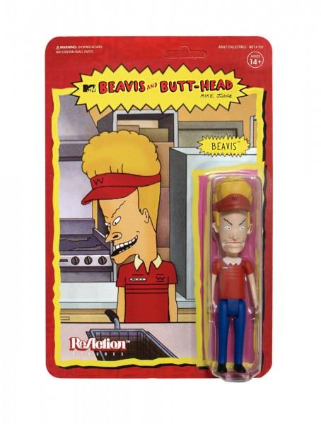 Beavis & Butt-Head ReAction Actionfigur Beavis (Burger World)