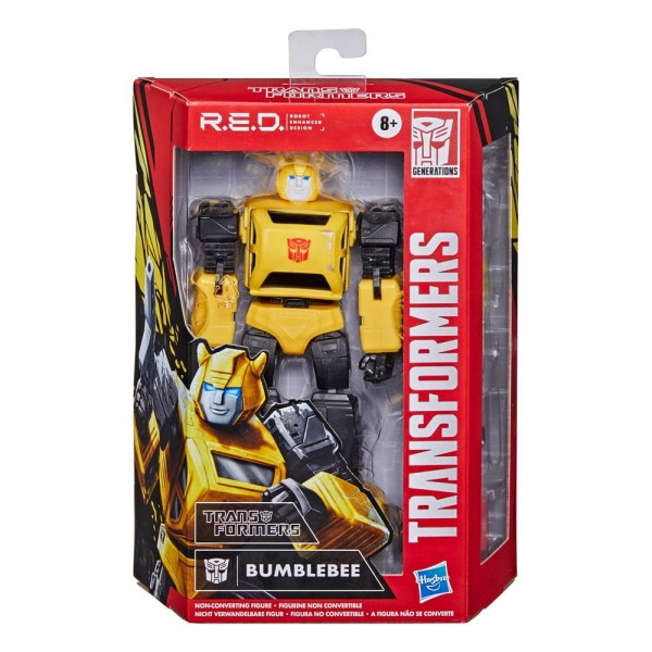 Transformers R.E.D. Actionfigur Bumblebee (The Transformers)