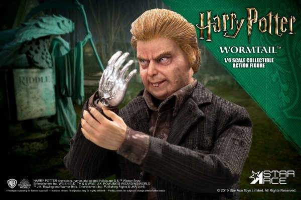 Harry Potter My Favourite Movie Actionfigur 1/6 Wormtail (Peter Pettigrew) Deluxe Version