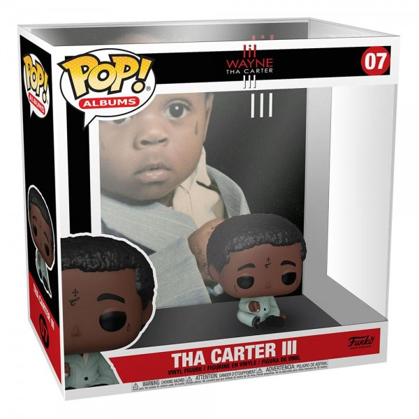 Lil Wayne Funko Pop! Albums Vinylfigur Tha Carter III 07