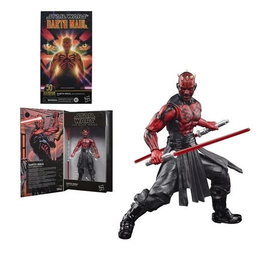 Star Wars Black Series 50th Anniversary Lucas Film Actionfigur 15 cm Darth Maul (Sith Apprentice)