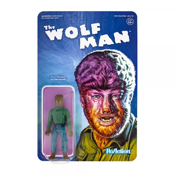 Universal Monsters ReAction Actionfigur The Wolf Man