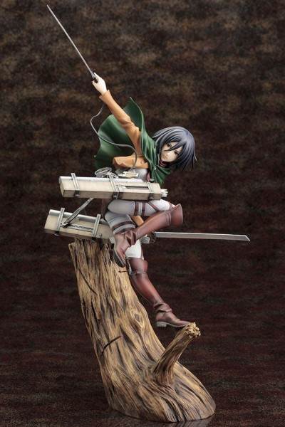 Attack on Titan ARTFX J Statue 1/8 Mikasa Ackerman (Renewal Package Version)