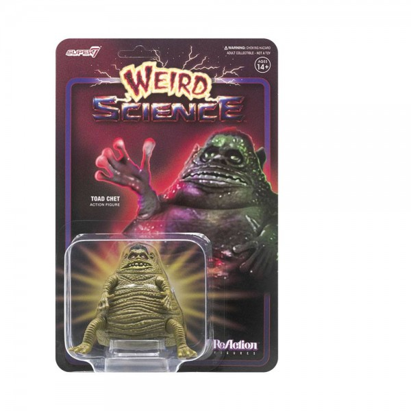 L.I.S.A. - Der helle Wahnsinn / Weird Science ReAction Actionfigur Toad Chet (Movie Accurate)