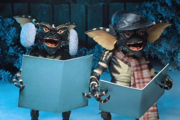 Gremlins Actionfiguren Christmas Carol Winter Scene Set 2 (2-Pack)