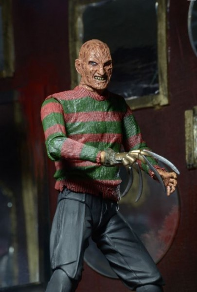 Nightmare on Elm Street 3 Dream Warriors Actionfigur Ultimate Freddy
