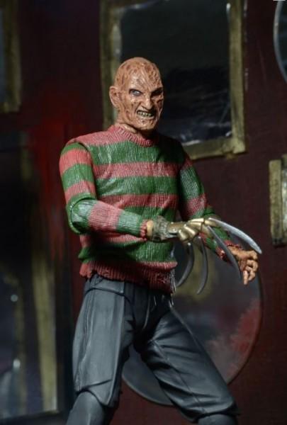 Nightmare on Elm Street 3 Dream Warriors Actionfigur Ultimate Freddy