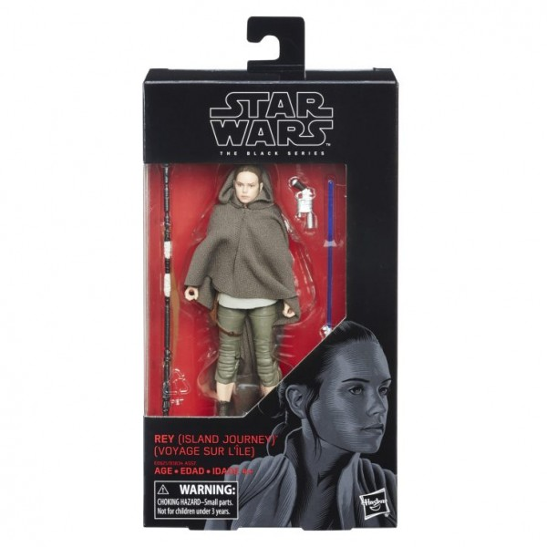 Star Wars Black Series Actionfigur 15 cm Rey (Island Journey)