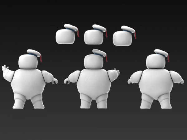 Ghostbusters: Afterlife Plasma Series Actionfigur 8 cm Stay Puft Marshmallow Man (3-Pack)