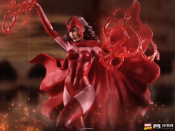 Marvel Comics BDS Art Scale Statue 1/10 Scarlet Witch