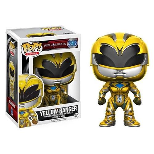 Power Rangers Movie Funko Pop! Vinylfigur Yellow Ranger 398