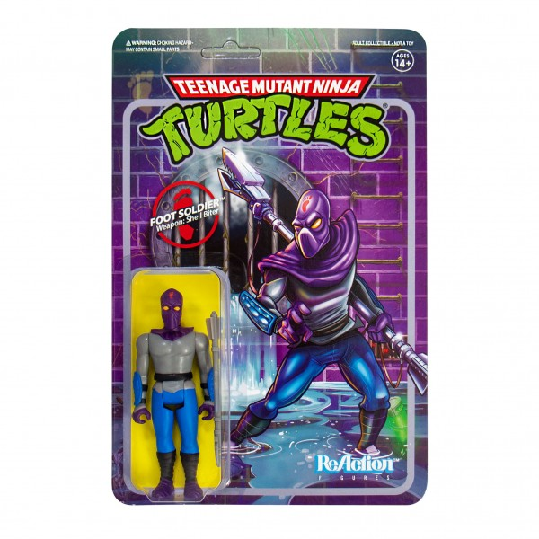 Teenage Mutant Ninja Turtles ReAction Actionfigur Foot Soldier