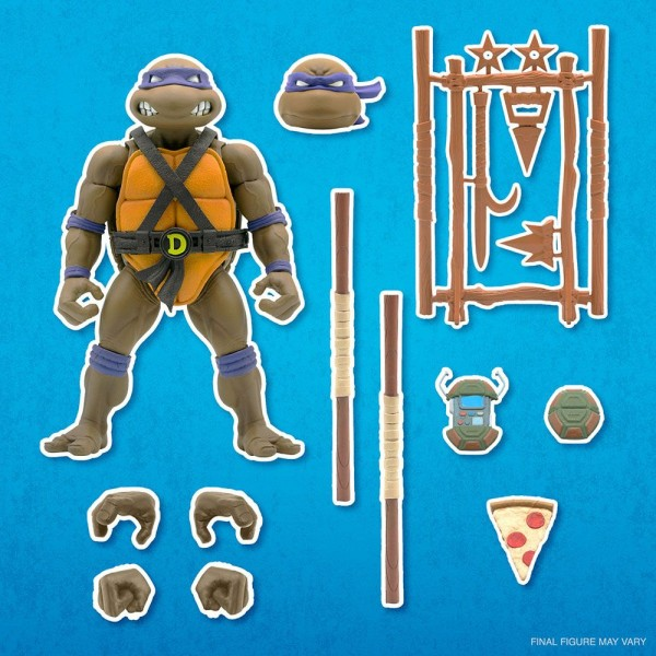 Teenage Mutant Ninja Turtles Ultimates Actionfigur Donatello