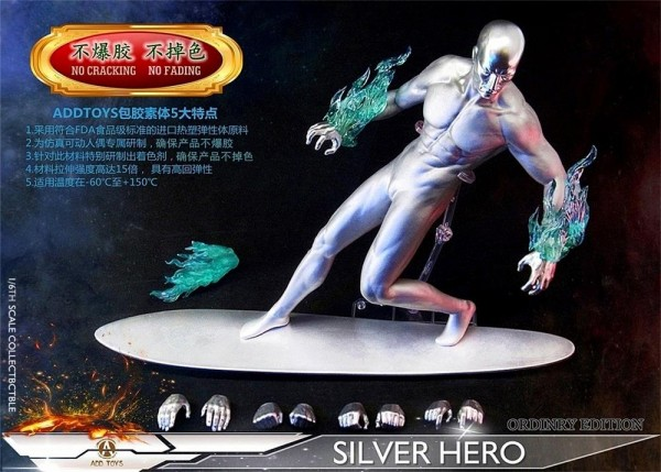 ADD TOYS 1/6 Actionfigur Silver Hero (Luxury Edition)