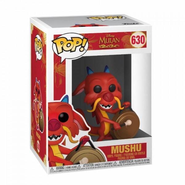 Mulan Funko Pop! Vinylfigur Mushu (with Gong) 630