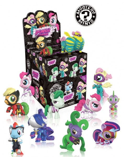 My Little Pony Mystery Minis Blindbox Minifigur Power Ponies Variant Mix