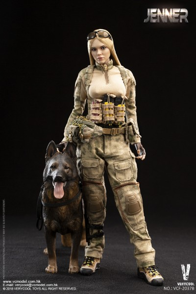 VERYCOOL Actionfigur 1/6 A-TACS FG Double Women Soldier (Blond Hair)