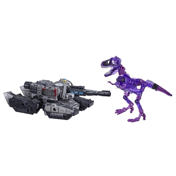 Transformers Generations War For Cybertron Trilogy Netflix Megatron & Fossilizer (Spoiler 2-Pack) Ex