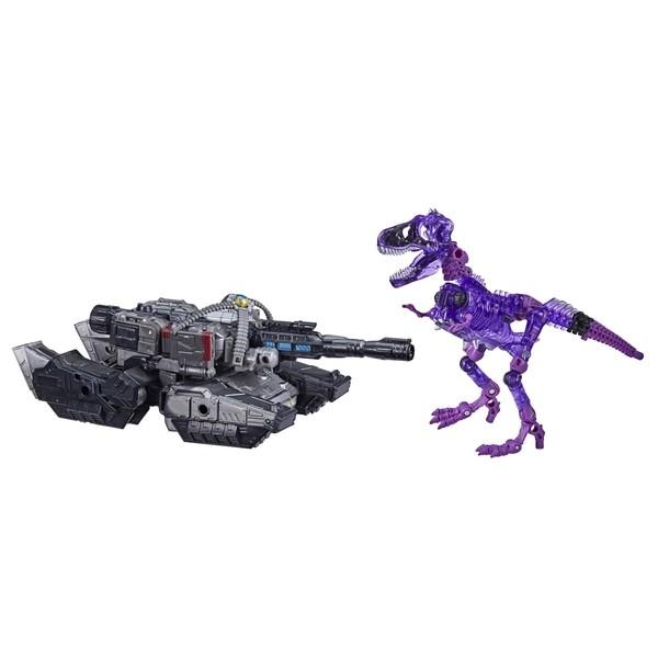 Transformers Generations War For Cybertron Trilogy Netflix Megatron & Fossilizer (Spoiler 2-Pack) Ex