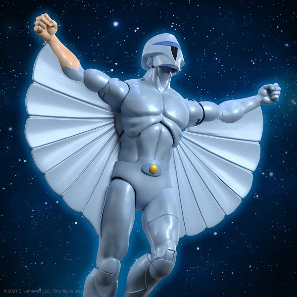 Silverhawks Ultimates Actionfigur Quicksilver