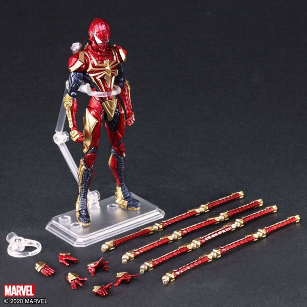 Marvel Bring Arts Actionfigur Spider-Man by Tetsuya Nomura