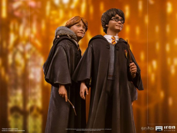 Harry Potter Art Scale Statue 1/10 Ron Weasley